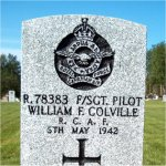 Grave Marker – Photo Courtesy of Gander War Cemetery: A Digital exhibit sponsored by Canada's Digital Collections.