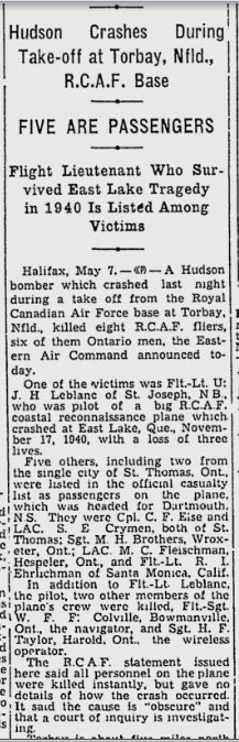 Newspaper Clipping – From the Montreal Gazette. Submitted for the project, Operation: Picture Me