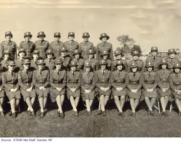 Newfoundland women who served in the war