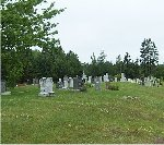 West St. Peter's Road (West St. Peter's) Cemetery – Photo courtesy of John S. Brehaut