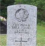 Gravemarker – Photo courtesy of John S. Brehaut