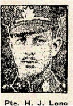 Newspaper Clipping – Pte. Harold James Long enlisted in Toronto on January 24th, 1916 with the 166th Battalion, Queen's Own Rifles.