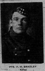 Newspaper clipping – CALGARY DAILY HERALD 7 May 1917