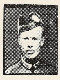 Photo of EDWARD SWIFT BURFORD – Photo from the National Memorial Album of Canadian Heroes c.1919. In memory of the members of the 15th, 92nd and 134th Battalions (48th Highlanders) who went to war and did not return. Submitted for the project, Operation: Picture Me.