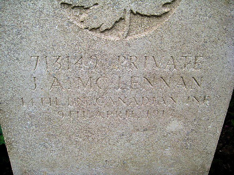Inscription – A clearer view (John & Anne Stephens 2013)