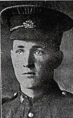 Photo of WILLIAM JAMES WEST – 797116 Private William James (Bill Jim) West 14th BN. Canadian Infantry 9th April 1917 Vimy Ridge