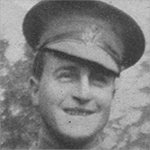 Photo of Robert Frederick Edwin Buscombe – Lieutenant Robert Buscombe attended St Andrew's College in 1911. This photo is from the College's June 1919 Memorial Issue of The Review.
