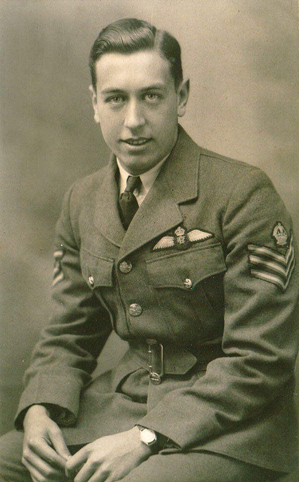WO1 William Charles Percy, in uniform.