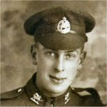Photo of Victor Cecil Potts – This photo taken on November 18,1917 and sent to his father William in Toronto.