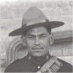 Photo of Henry Louis Norwest – Photo taken while as a member of 3rd Canadian Mounted Rifles, 1915.