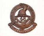 Cap Badge – 15th Bn cap badge. Photo BGen G. Young 15th Battalion Memorial Project Team.   DILEAS GU BRATH