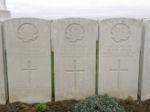 Grave marker – Gravemarker (right). Photo BGen G. Young 15th Battalion Memorial Project Team   DILEAS GU BRATH.
