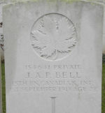 Grave Marker – Photo by BGen (ret`d) G. Young, submitted by Capt (ret`d) V. Goldman 15th Bn Memorial Project.  DILEAS GU BRATH