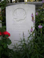 Grave Marker – Photo provided by The Commonwealth Roll Of Honour Project. Volunteer Julie Lukins