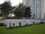 Cemetery – Douai British Cemetery Cuincy. Photo provided by The Commonwealth Roll Of Honour Project. Volunteer Julie Lukins