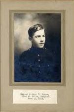 Photo of Arthur Rudow – Sapper Arthur C. Rudow, Died at Lille, France, Nov. 5, 1918