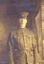 Photo of John Archibald McCallum – This is my Grandfather, John Archibald McCallum, killed in France Aug. 26, 1918.  He left a wife and 4 children. Please, let their sacrifice not be forgotten!
