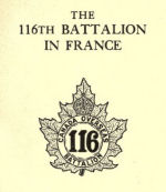 The 116th Battalion – Submitted for the project, Operation: Picture Me
