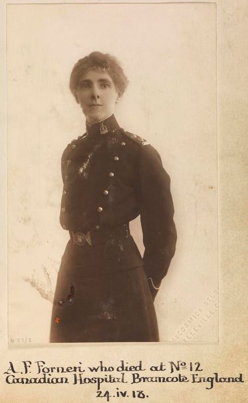 Photo of Agnes Florien Forneri – © IWM (WWC H22-2)