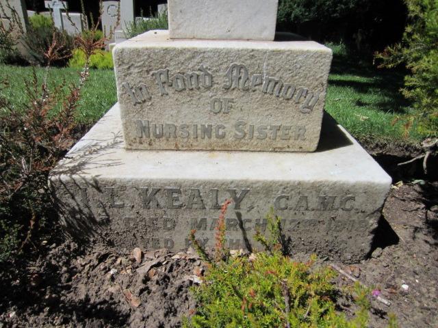 Grave marker – Grave marker inscription at Bramshott (St. Mary) Churchyard; image taken 10 June 2014.