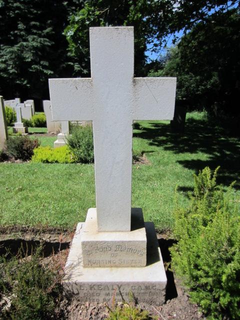 Grave marker – Grave marker at Bramshott (St. Mary) Churchyard; image taken 10 June 2014.