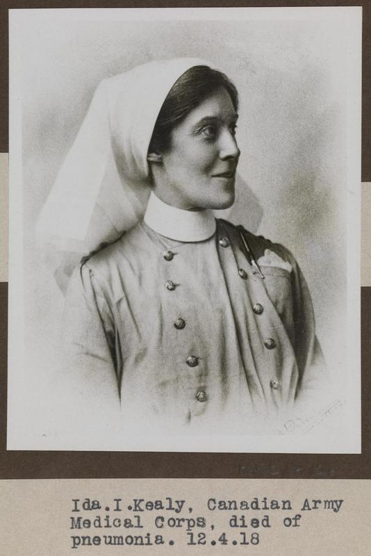 Photo of Ida Kealy – © IWM (WWC Z-26)