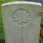 Grave Marker – Photograph of HW Smith's memorial in St James Cemetery, Dover, Kent, UK