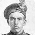 Photo of John Joseph Hurshman – Image from the book 'Nova Scotia's Highland Brigade'