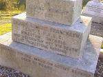Grave Marker – Gravestone at Shornecliffe Cemetery, Kent, U.K.