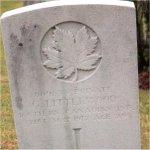 Grave Marker – Photo courtesy of Craig B.Cameron.