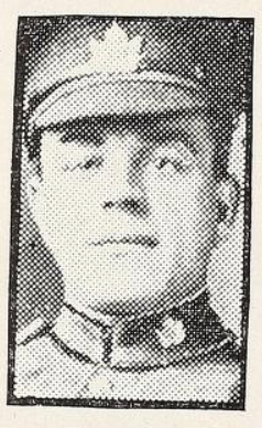 Photo of ANDREW FORSYTH LIVINGSTONE – Photo from the National Memorial Album of Canadian Heroes c.1919. Submitted for the project, Operation: Picture Me.