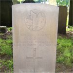Grave Marker – A son of Canada returned home Headstone inscription :     Gone but not forgotten       by loved ones
