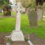 Grave Marker – Nurse Tupper's grave in Uxbridge Cemetery.
