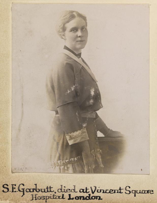 Photo of Sarah Garbutt – © IWM (WWC H22-3)