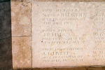 Inscription – A photograph of the memorial wall at the Zivy Crater Cemetery. May he rest in peace.(J.Stephens)