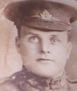 Photo of George Logan – George Logan, of Haliburton, Ontario.  Died during the battle of Vimy Ridge.