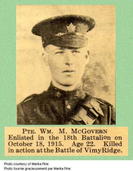 Photo of William Mathew Mcgovern