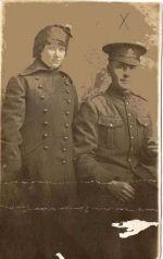 Group photo – Pvt. John Wesley McMullen and sister Clara 1915 Oshawa.