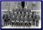 Group Photo – Cadet Malcolm Cann was a graduate of the first class of the Royal Navy College of Canada, set up in 1911 shortly after the Canadian Navy itself was established in 1910.