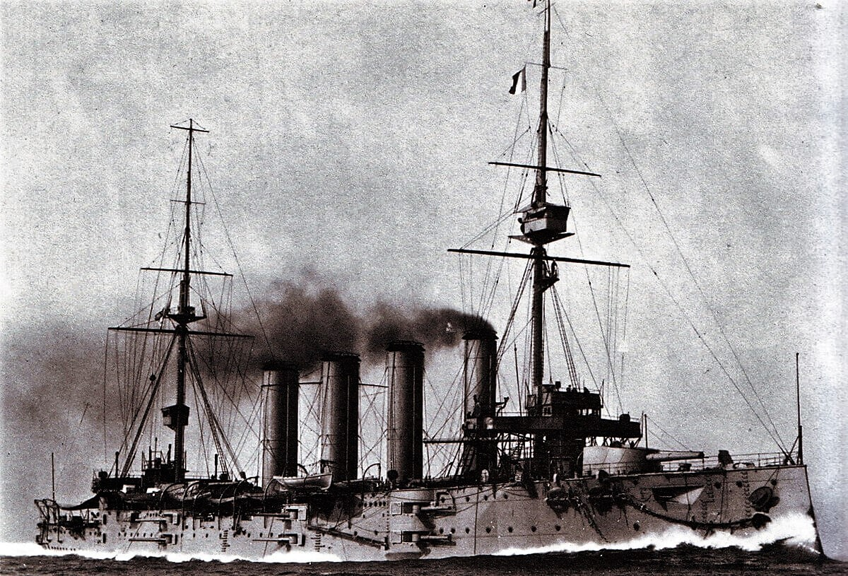 HMS Good Hope – HMS Good Hope - the Royal Navy Drake-class armoured cruiser that was the flagship of Rear Admiral Christopher Cradock's 4th Cruiser Squadron in the early days of World War I.  Malcolm Cann was serving in HMS Good Hope and was killed when the ship was sunk by the German Navy's East Asia Squadron, under the command of Vice Admiral Graf Maximilian von Spee, at the Battle of Coronel on 1 November 1914.