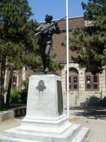 Memorial – In memory of the Harbord Collegiate Institute students who served during World War I and World War II and did not return home. 