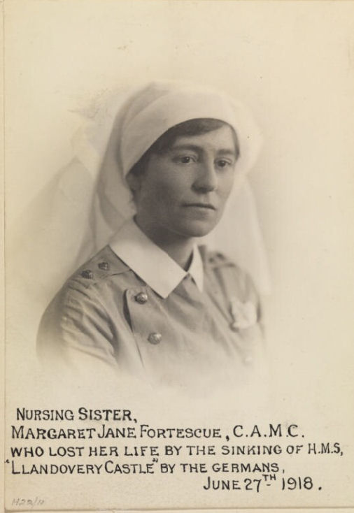Photo of Margaret Jane Fortescue – © IWM (WWC H22-11)