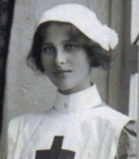 Newspaper clipping – Margaret 'Daisy' Fortescue. Heroic nurse killed in World War 1 is remembered on 100th anniversary of her death . Newspaper article from the UK Express, June 29, 2018.