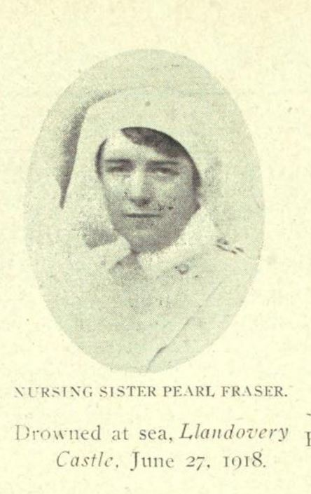 Photo of Margaret Marjory (Pearl) Fraser – Nova Scotia's Part in the Great War