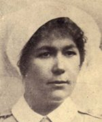 "Tribute – This tribute to Nursing Sister Minnie K. Gallaher was included in the 1919 special edition ""Our Heroes in the Great War"" compiled by J. H. De Wolfe, Patriotic Publishing Co., Ottawa. This book included two pages of photos of nursing sisters."