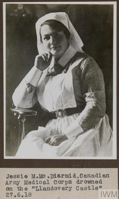 Photo of Jessie McDiamard – © IWM (WWC H22-38-1)