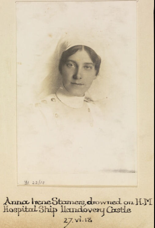 Photo of Anna Stamers – Photo © IWM (WWC H22-18)