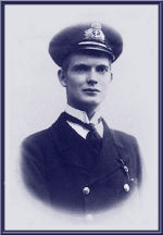 Photo of WILLIAM MCKINSTRY MAITLAND-DOUGALL – Lieutenant (RCN) William McKinstry Heriot-Maitland-Dougall was killed on active service with his officers and crew while in Command of H.M. Submarine D3 off Le Havre on 12 March, 1918 at 23 years of age.