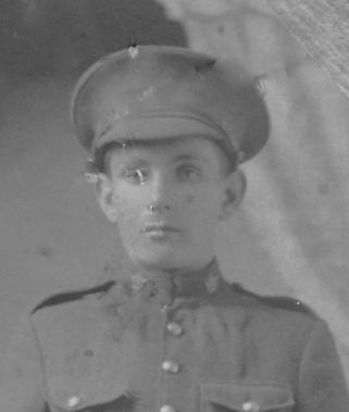 Photo of Addison Anthony – Addison died from spinal meningitis when he was a young man overseas in World War I.