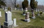 Cemetery – Private Kingsbury grave site, Ebenezer United Church Cemetery, Campbellville (Milton) Ontario.
